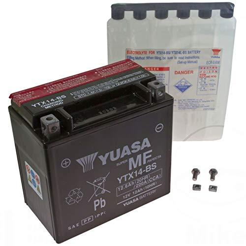AGM Batterie Moto Guzzi V7750Stone 13-14YUASA ytx14BS Dry