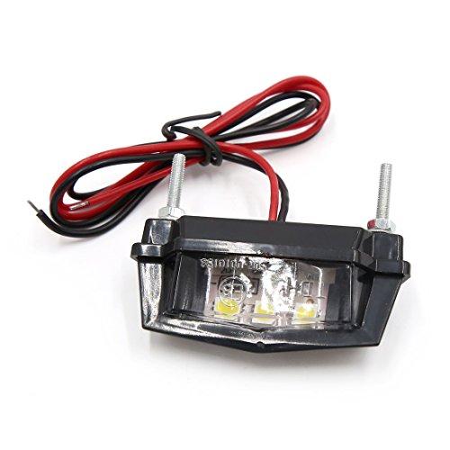 KESOTO LED Lamp Brand Side Blinker Lights Indicator 2pcs Carbon Fiber