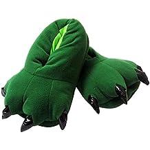 Aivtalk - Zapatillas Franela Suave Cálido Disfraz Garra de Animal de Pata Otoño Invierno Slipper Disfraz