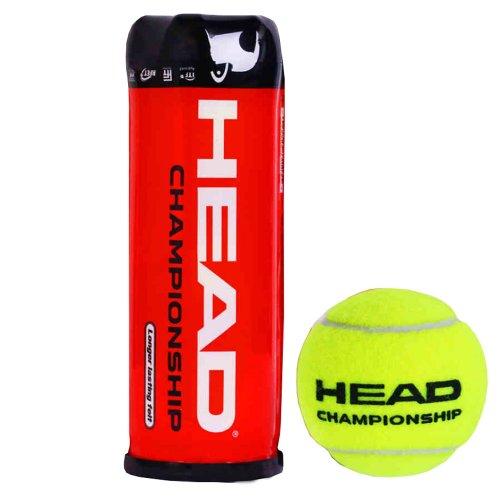 20143B Head Championship rot Kunststoff können Tennisbälle (Single Can/3Bälle) -