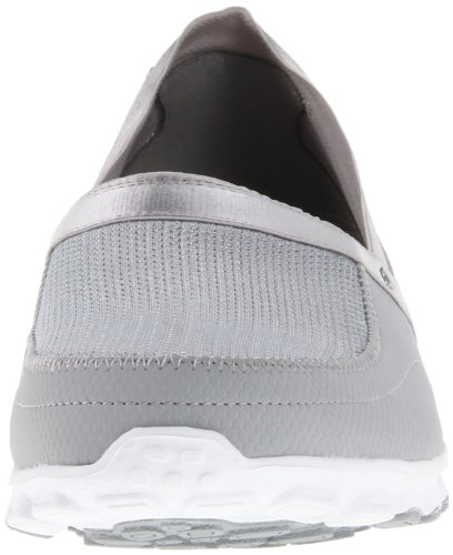 Skechers EZ FlexTake-It-Easy Damen Sneakers Grau/Weiß
