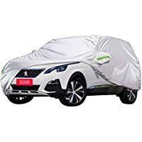 Cubierta de coche PEUGEOT 3008 Cubierta especial del coche SUV Grueso Tela Oxford Protección solar a