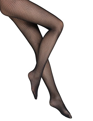 Wolford Rhomb Net Tights - Mujer negro, M