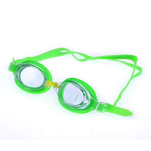 Schwimmbrillen,für Männer Frauen Mädchen,Kinder Farbe Candy Farbe wasserdicht Anti-Fog-Brille Multi-Color kann wählen, grün,Schwimmbrille mit Antibeschlag und UV Schutz