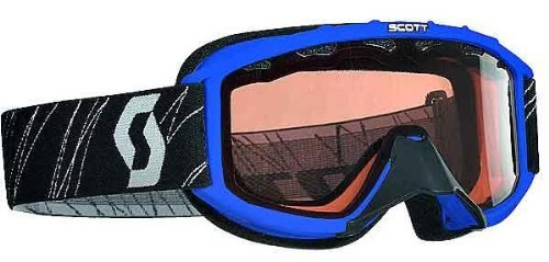 Scott Sports 89Si Youth Snowcross Goggles (Blue Frame/Rose Lens) by Scott Sports