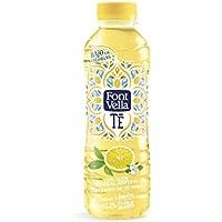 Font Vella Té Agua Mineral con Extracto de Té con Limón - Pack de 12 Botellas x 0.5 l - Total: 6 l