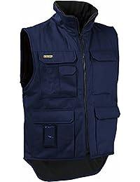 """Blåkläder Workwear Arbeits-Winterweste""""3801"""" Fleece-Futter, 1 Stück, XXL, marine, 67-38011900-8900-XXL"""