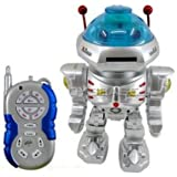 Toy vala Remote Control Robot with Disk Launcher