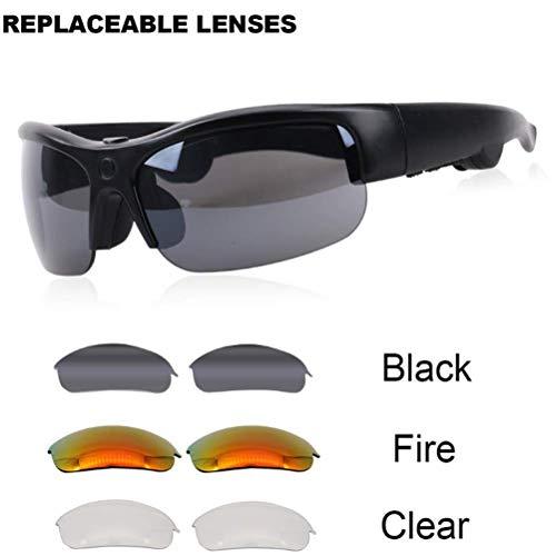 Neue intelligente Knochenleitung Brille Headset Bluetooth wasserdicht Multifunktions DREI Farbe Objektiv Sonnenbrille
