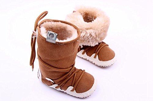 xhorizon ® Niedlich Bezaubernd Baby Jungen Mädchen Ich liebe Mutter/Ich liebe Vater Kleinkind Sport Locker Schuhe Y256 rot