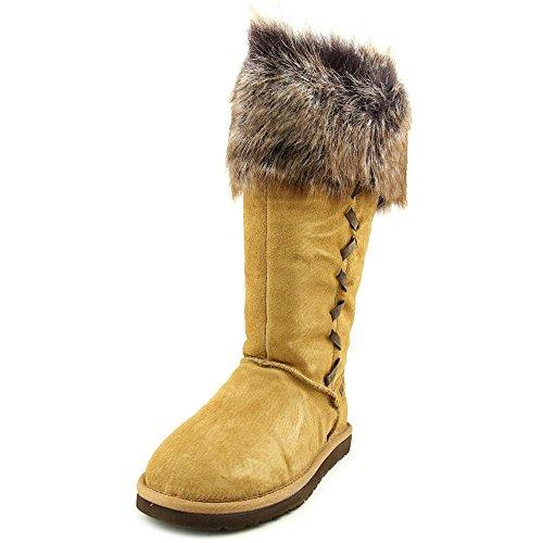 Winter Stiefel, Beige - Kastanienbraun - Größe: 37 ()