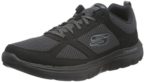 Skechers Men Flex Advantage 2.0 Multisport Outdoor Shoes, Black (Bbk), 10 UK...