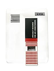 Nayar Pln Analoge 4kva 170-270V ( For 1.5 Ton Ac ) Voltage Stabilizer (White, red)