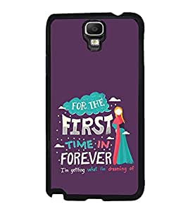 FUSON First Time Forever Designer Back Case Cover for Samsung Galaxy Note 3 Neo :: Samsung Galaxy Note 3 Neo Duos :: Samsung Galaxy Note 3 Neo 3G N750 :: Samsung Galaxy Note 3 Neo Lte+ N7505 :: Samsung Galaxy Note 3 Neo Dual Sim N7502