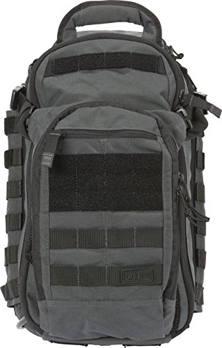 5.11 All Riesgos Nitro Mochila, Negro, color Double Tap, tamaño talla única, volumen liters 25.0