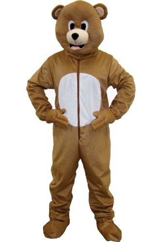 Dress Up America Braunbär Maskottchen für Kinder