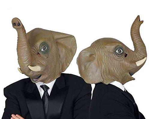 Guirca 2453 - Careta Elefante Latex