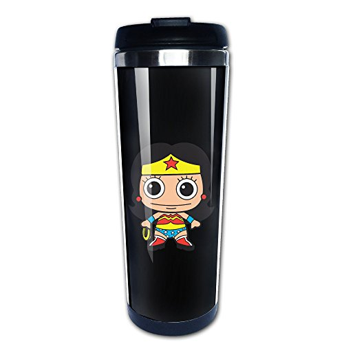 ee Tassen, Edelstahl Kaffee Tasse (Wonder Woman Kostüm Socken)