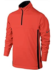 Nike Boys' Thermal 1/2-Zip 2.0 Maillot manches longues de golf pour garçon, Orange (Max Orange / Max Orange / Black / Anthracite), XL