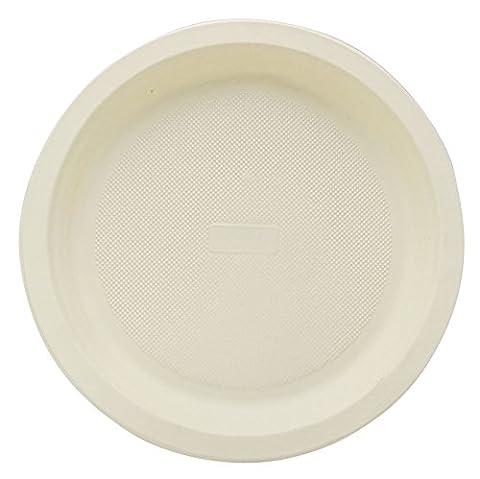 Parti Papery Écologique Jetables Assiettes En Papier Ronds Plats Fabriqués