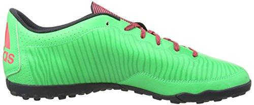adidas X 15.3 Caged Turf Herren Fußballschuh Green (Flash Green/Flash Red/Dark Grey)