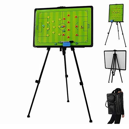 KMDL Taktikboards Football Tactic Board Halterung Magnetic Digital Teaching Board Trainer Battle Disk Wiederbeschreibbare Trainer Taktische Ausrüstung (Battle Board)