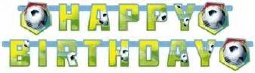 ykette * FUSSBALL* für Party oder Kindergeburtstag // Kinder Geburtstag Banner Deko (Fußball-banner)