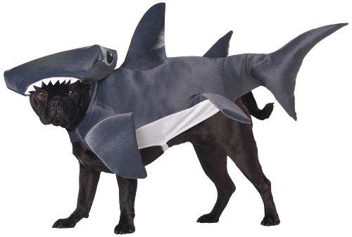 head Shark Dog Kostüm, Mittel (Hillarious Kostüme)