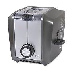 Trebs 21126 Pasta Gusto Vollautomatische Pastamaschine, 4 Personen, 10 Nudelformen, Teigschneider, Rezeptvorschläge