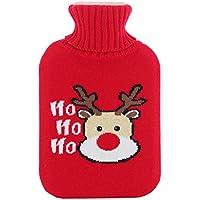 Wärmflaschen, Naturkautschuk und weicher Strickschutz aus Baumwolle, um warm und bequem zu bleiben (größe : L... preisvergleich bei billige-tabletten.eu