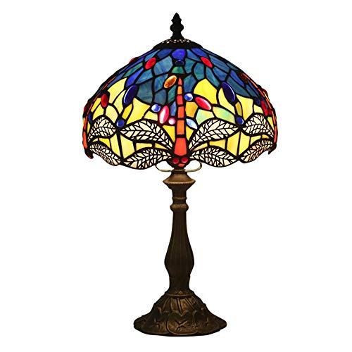 WBJYF Ersatz Wandlampe,Europäischen Tischlampe,Kronleuchter,Leselampe Lampenschirm,Retro Kreative (ohne Glühbirne) -