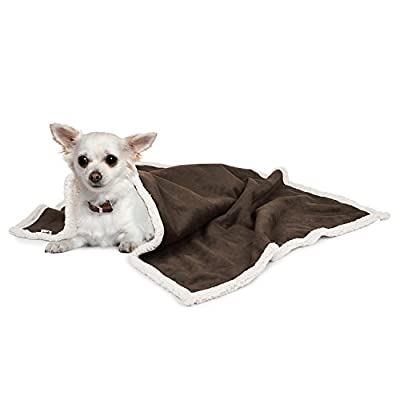 Pecute Deluxe Pet Bed for Cats and Small Medium Dogs Rectangle Cuddler with Soft Detachable Cushion Grey