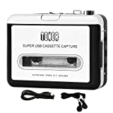 Tonor Portable Cassette Player Tape Convertor to MP3 via USB Compatible with Laptops