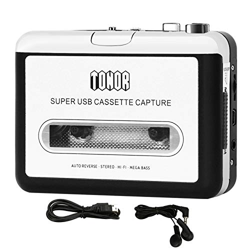TONOR Portable Cassette Player T...