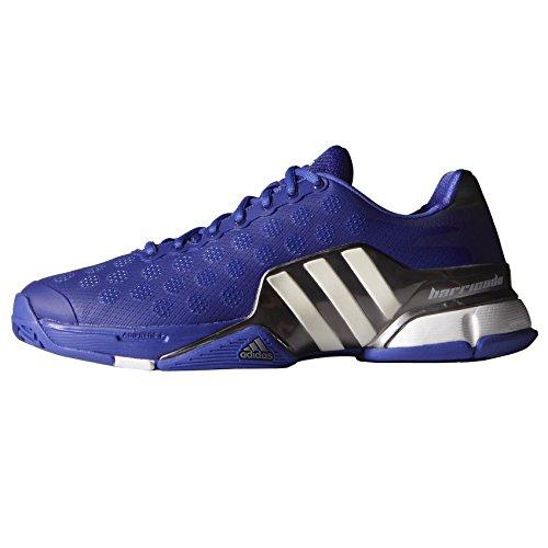 Adidas Barricade 9-Scarpe da Tennis-SS15 - viola