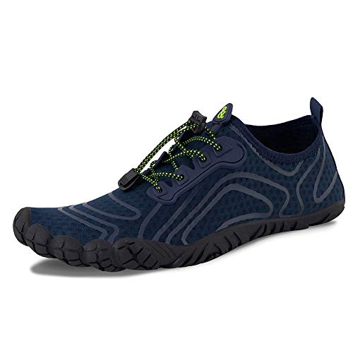 fa76c962 Water Shoes Womens Mens Aqua Beach Swim Shoes Quick Drying Barefoot Shoes  for Swimming Pool Boating