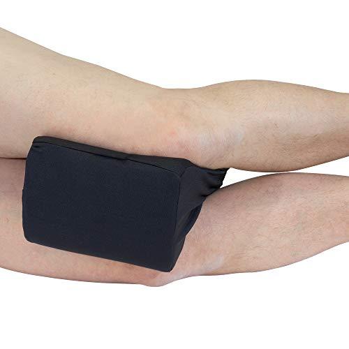 Orthopädisches Kniekissen von Formalind® / Kniepolster // Beinkissen aus Visco-Schaum für Seitenschläfer, Schwangerschaft – Gegen Gelenkschmerzen, Rückenschmerzen, Beinschmerzen