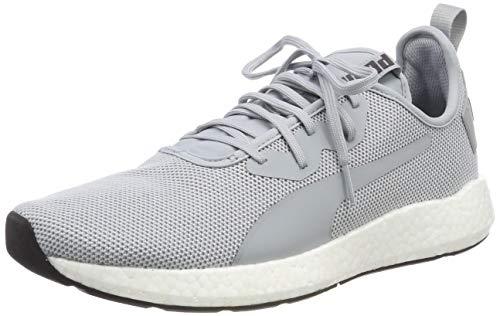Puma Running Sneakers (Puma NRGY Neko Sport, Herren Laufschuhe, Grau (Quarry-Puma White), 42 EU)