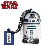 Tribe Star Wars 8 R2D2 USB Stick 32 GB Speicherstick 2.0 High Speed Pendrive Memory Stick Flash Drive, Lustige Geschenke 3D Figur, USB Gadget aus Hart-PVC mit Schlüsselanhänger