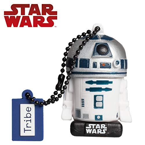 Llave USB 32 GB R2D2 TLJ - Memoria Flash Drive 2.0 Original Star Wars, Tribe FD030711