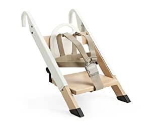 stokke chaise haute portable handysitt blanc b b s pu riculture. Black Bedroom Furniture Sets. Home Design Ideas