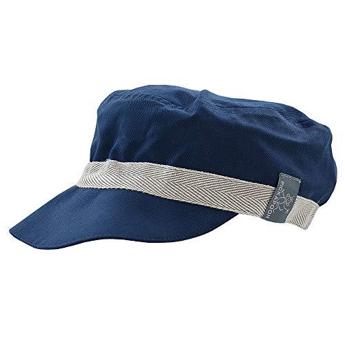 PickaPooh Schirmmütze Mika mit UV-Schutz für Kinder und Erwachsene Bio-Baumwolle, Marine Gr. 64