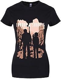 Grindstore Women's Endure & Survive T-Shirt Black