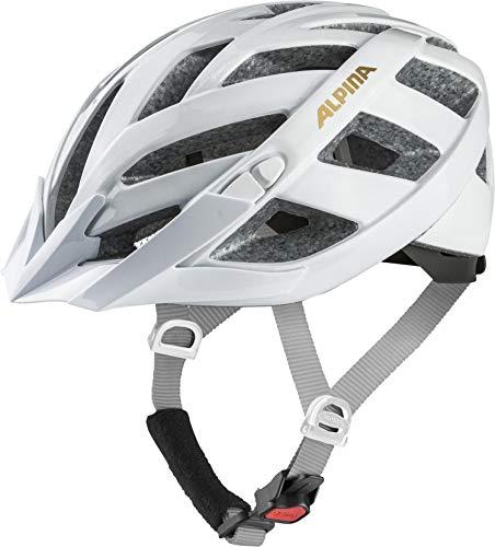 Alpina Damen PANOMA CLASSIC Fahrradhelm, White-Prosecco, 52-57 cm