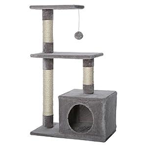Arbre à chat avec griffoir / Arbre à Chat Gris clair