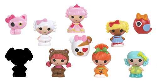 mga-entertainment-530435gr-lalaloopsy-tinies-minipuppe-design-4-10-er-pack