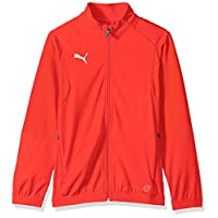 PUMA Men's LIGA Training Jacket JR, red White, X-Large
