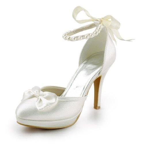 Jia Jia Wedding 3704A Hochzeitsschuhe Brautschuhe Damen Pumps