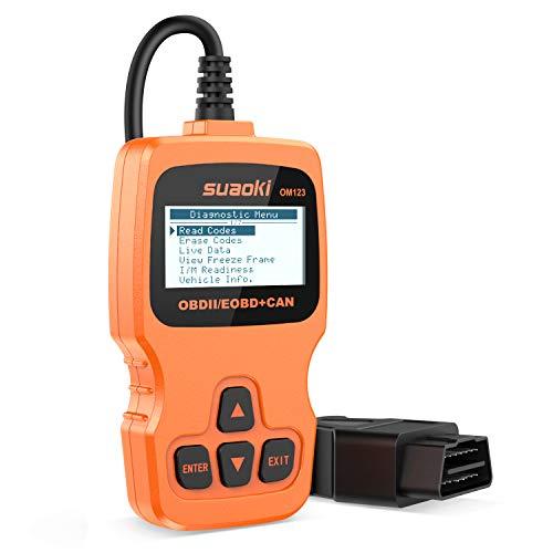 SUAOKI OBD2 Auto Diagnóstico Escáner, OBD-II Escáner y Lector de Códigos de Coche, Herramienta diagnóstico a Bordo