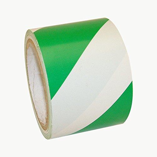 jvcc-hz-8-hazard-warning-tape-3-in-x-18-yds-green-with-white-stripes